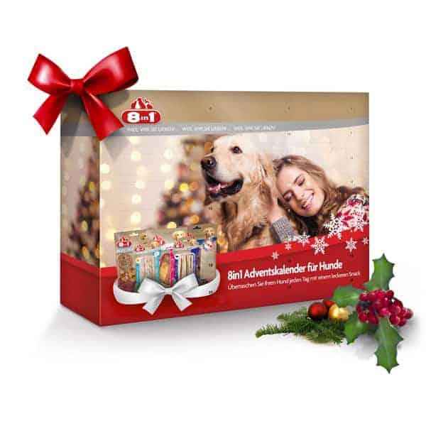 8in1 adventskalender hundesnacks