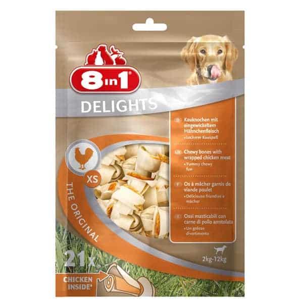 8in1 delights hundesnacks original xs