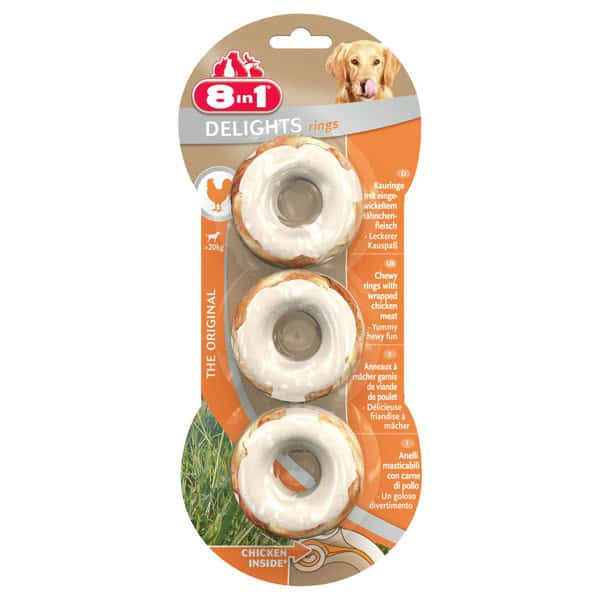 8in1 delights ringe hundesnacks schweiz
