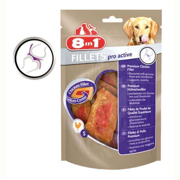 8in1 fillets pro active hundesnacks