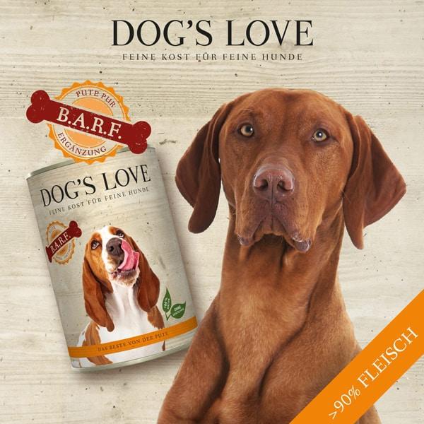 BARF Hundefutter kaufen dogs love