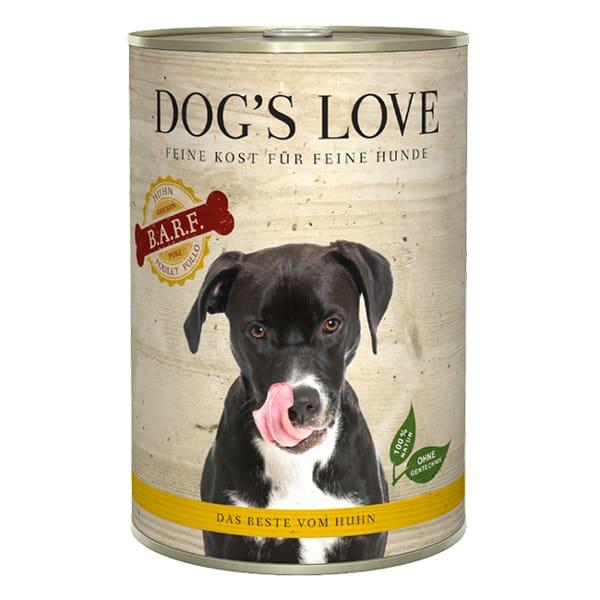 BARF hundefutter dogs love huhn