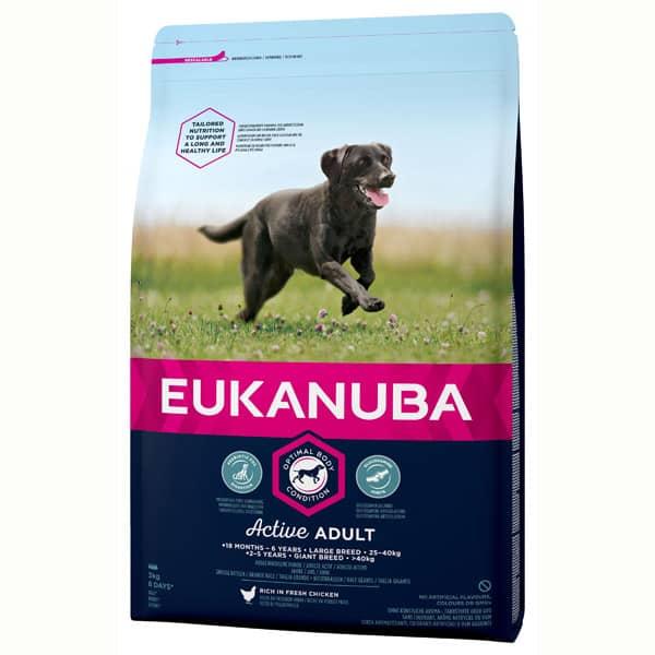 Eukanuba active hundefutter large