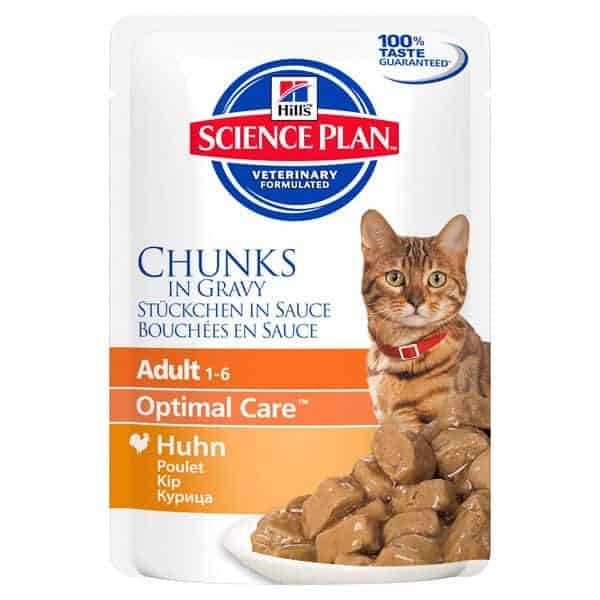 Hill's Science Plan chicken nassfutter 1
