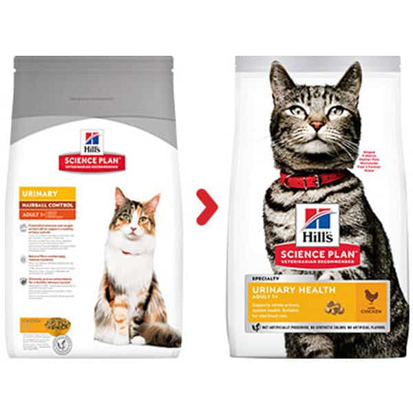 Hill's Urinary Hairball Control trockenfutter