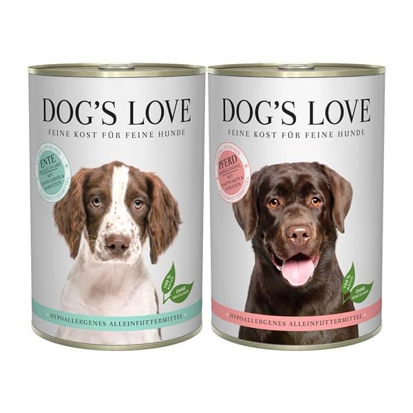 Hundefutter dogs love hypoallergen