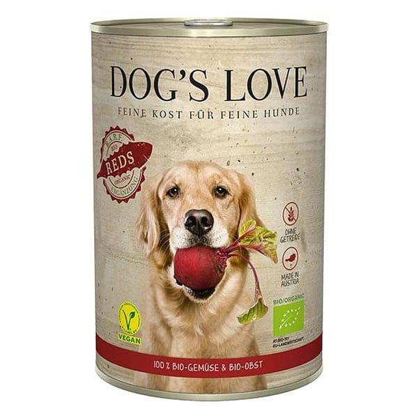 Hundefutter vegan dogs love