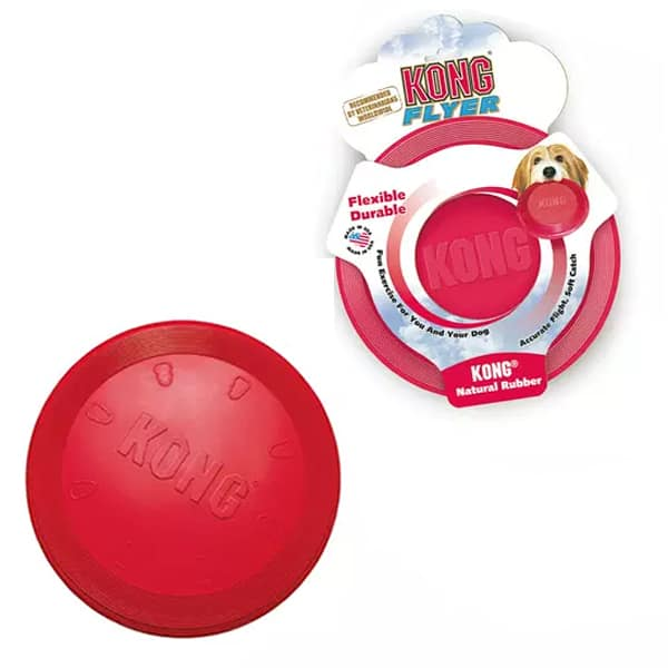 Hundespielzeug Frisbee KONG Classic Flyer