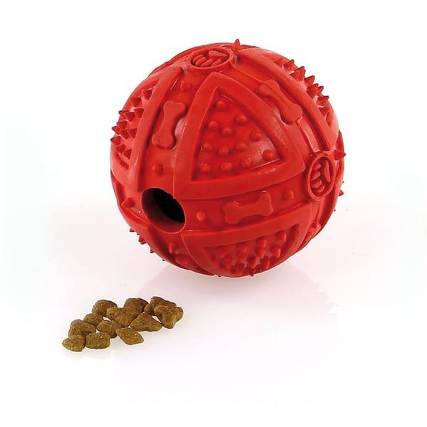 Hundespielzeug Futter Gummiball Pfoetli