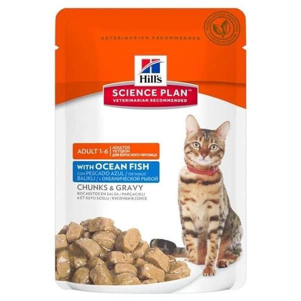 Katzenfutter Hill's Science Plan Fisch
