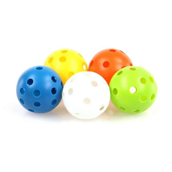 Trainingsball Set fuer Hundepool