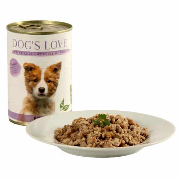 Welpen dogs love junior lamm