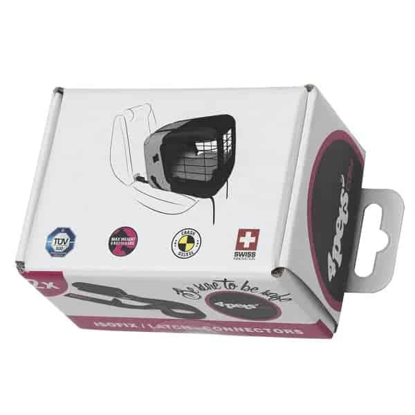 adapter isofix auto hundebox 4pets