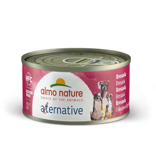 almo nature alternative hundefutter bresaola