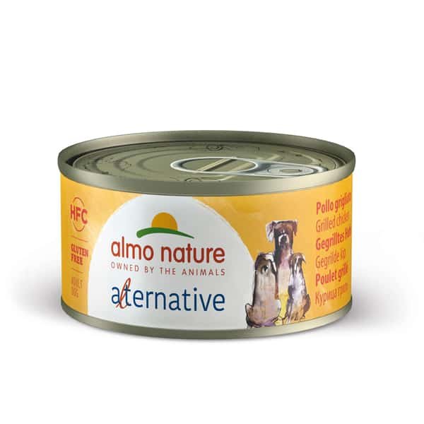 almo nature alternative hundefutter chicken huhn