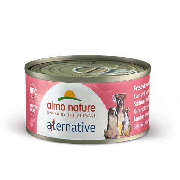almo nature alternative hundefutter schinken bresaola