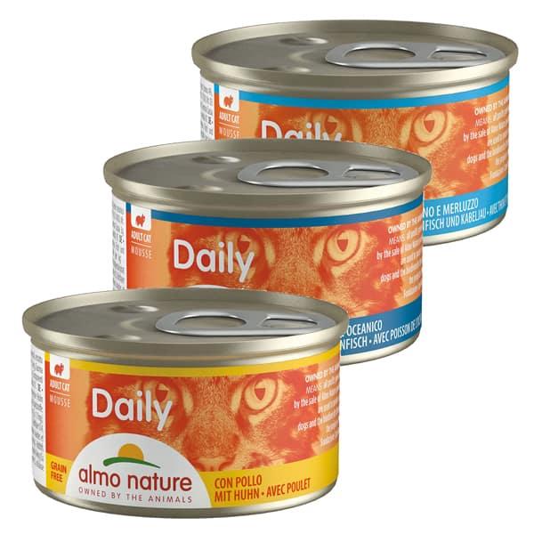 almo nature daily mousse katzenfutter