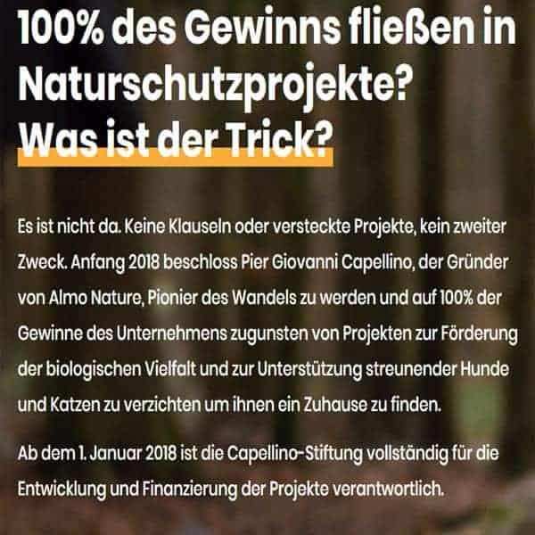 almo nature futter dosen nass kaufen schweiz