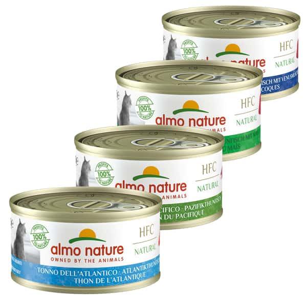 almo nature hfc katzenfutter mit fisch natural