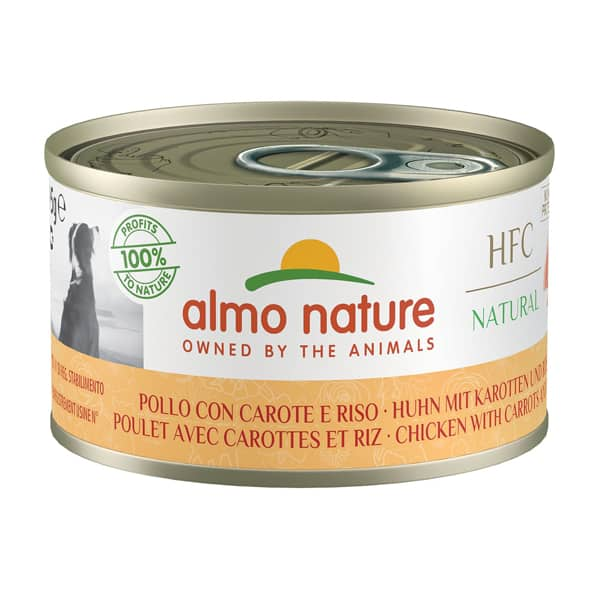 almo nature hfc poulet natural dog