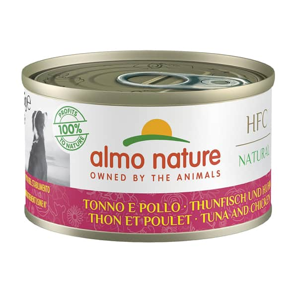 almo nature hfc thunfisch natural dog
