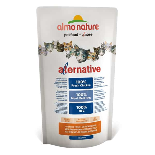 almo nature katzenfutter alternative huhn