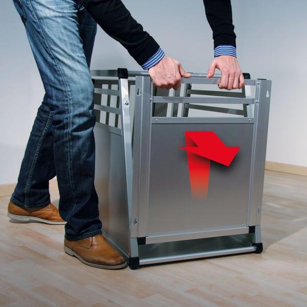 aluminium hundebox swisspet deluxe
