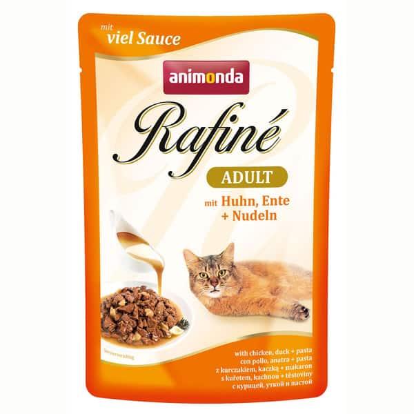 animonda rafine huhn ente nudeln katzenfutter