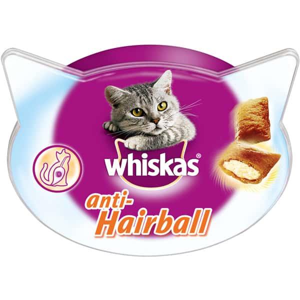 anti hairball whiskas katzenfutter