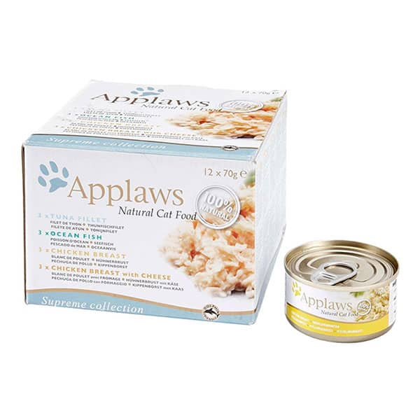 applaws katzenfutter dose supreme selection