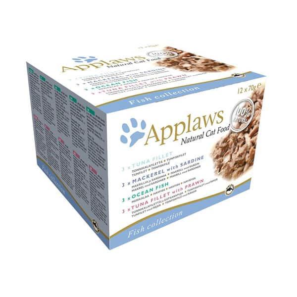 applaws katzenfutter fisch multipack dosen