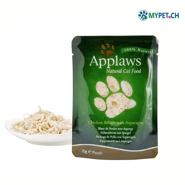 applaws katzenfutter huhn und spargel nassfutter