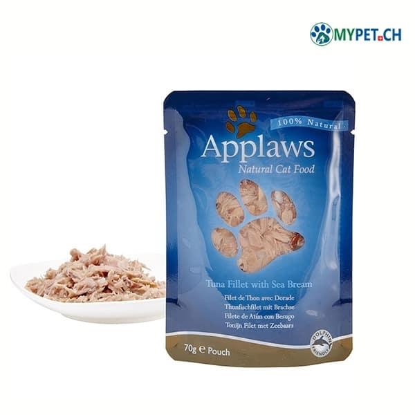 applaws katzenfutter thunfisch dorade nassfutter