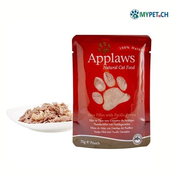 applaws katzenfutter thunfisch garnelen beutel