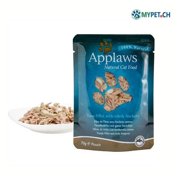applaws katzenfutter thunfisch sardelen beutel