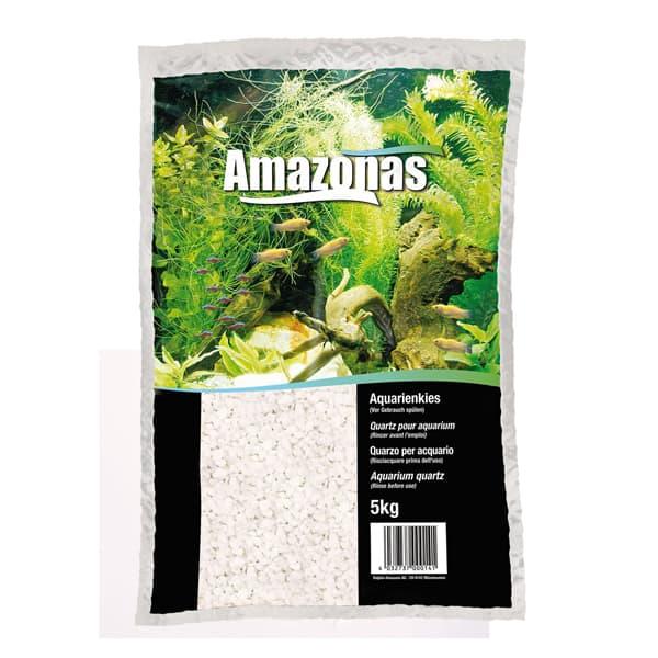 aquarien edelquarzkies amazonas weiss 2 4mm