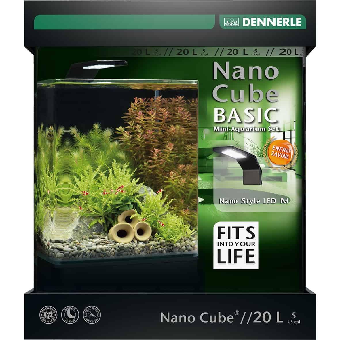 aquarium 20l nano cube basic dennerle