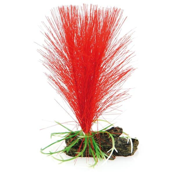 aquarium kunstpflanze nano amazonas rot