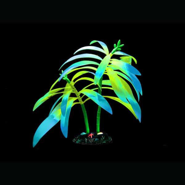 aquarium palme kunstpflanze deko