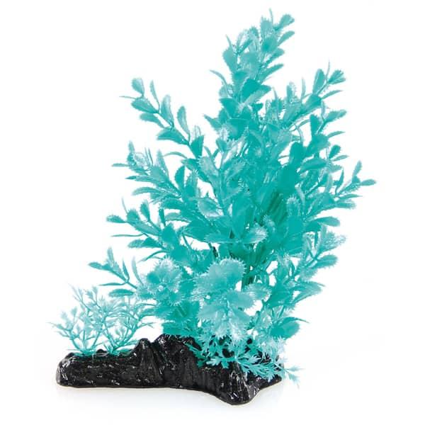 aquarium plastikpflanzen gruen