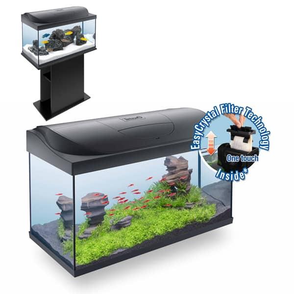 aquarium tetra starter line 54 liter led