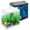 aquariumset tetra aquaart 30l schwarz weiss