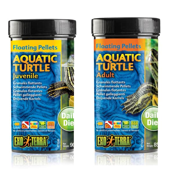 aquatic turtle futter wasserschildkroeten