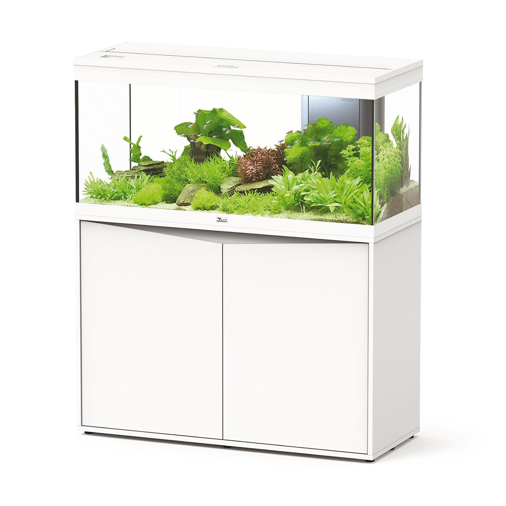 aquatlantis aquarium set volga 180 weiss