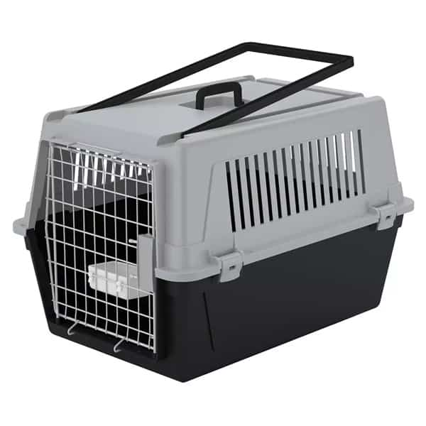 atlas hundebox ferplast transportbox rollbar