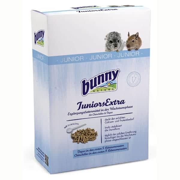 bunny juniors extra ergaenzungsfutter kleintiere