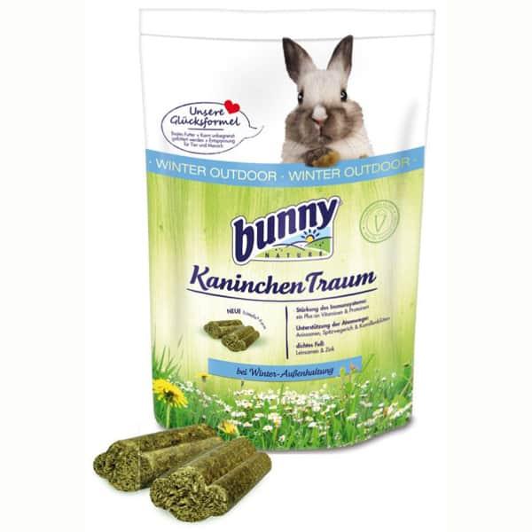 bunny kaninchen traum winter aussenhaltung