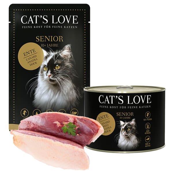 cat s love senior katzenfutter alte katzen