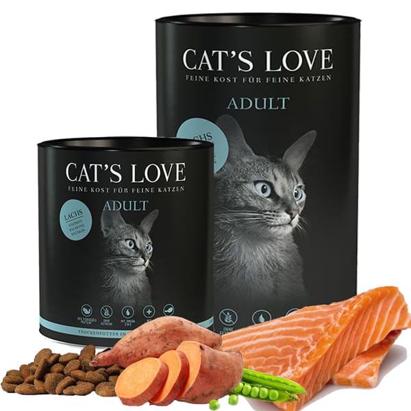 cats love adult trockenfutter katzen