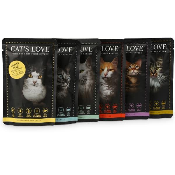 cats love katzenfutter multipack nassfutter